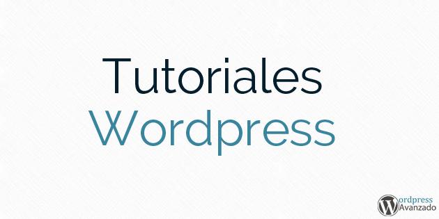 Tutoriales Wordpress