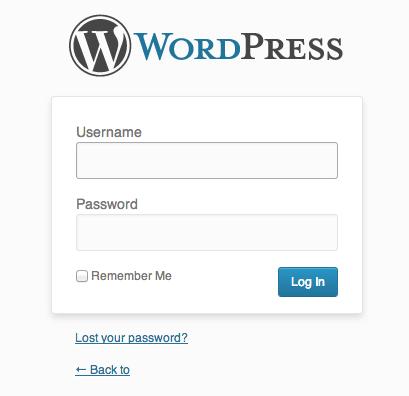 wordpress-admin