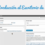 Acceso e Introducción al Escritorio de WordPress