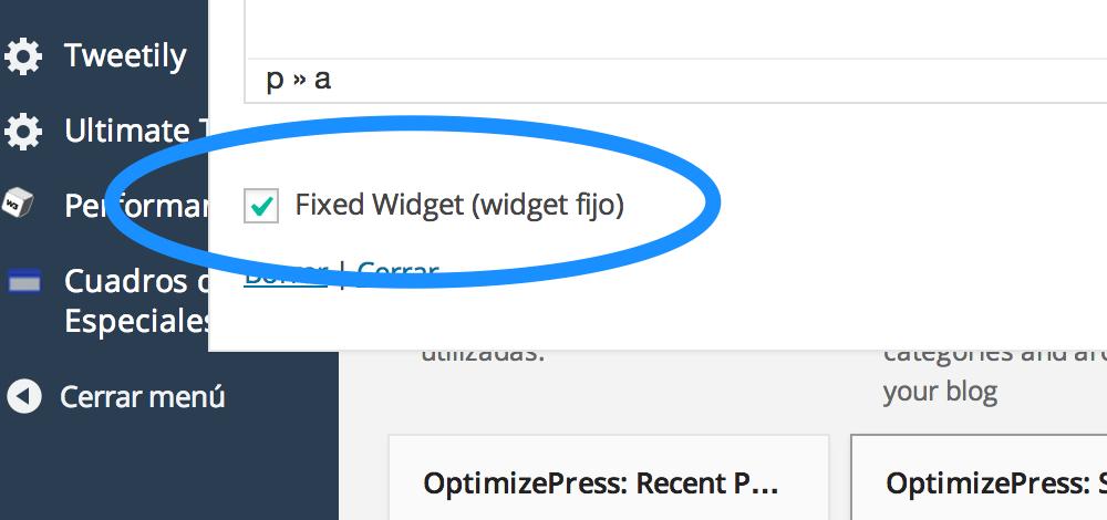 fixed-widget