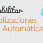 Cómo deshabilitar actualizaciones automáticas en WordPress