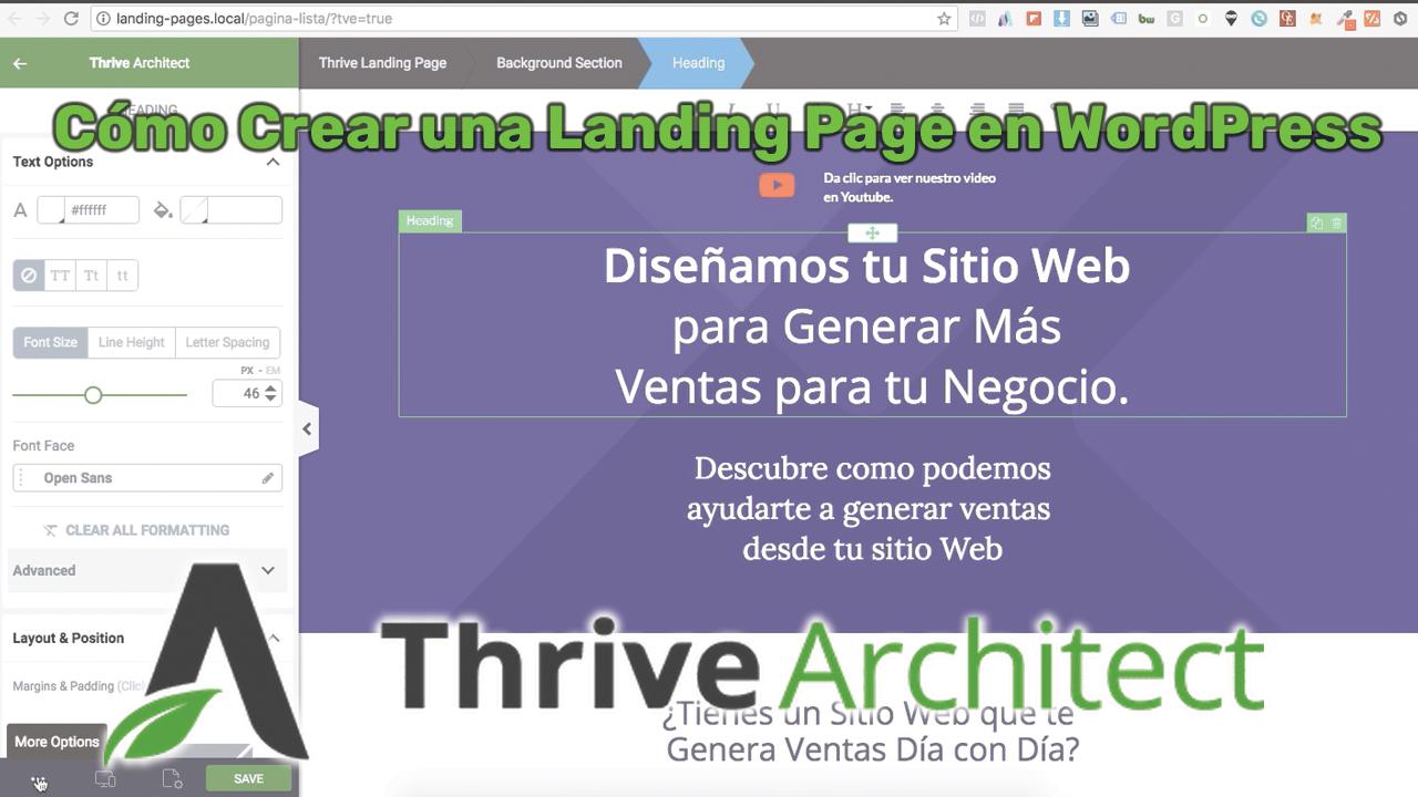 Cómo Crear una Página de Aterrizaje (Landing Page) en WordPress